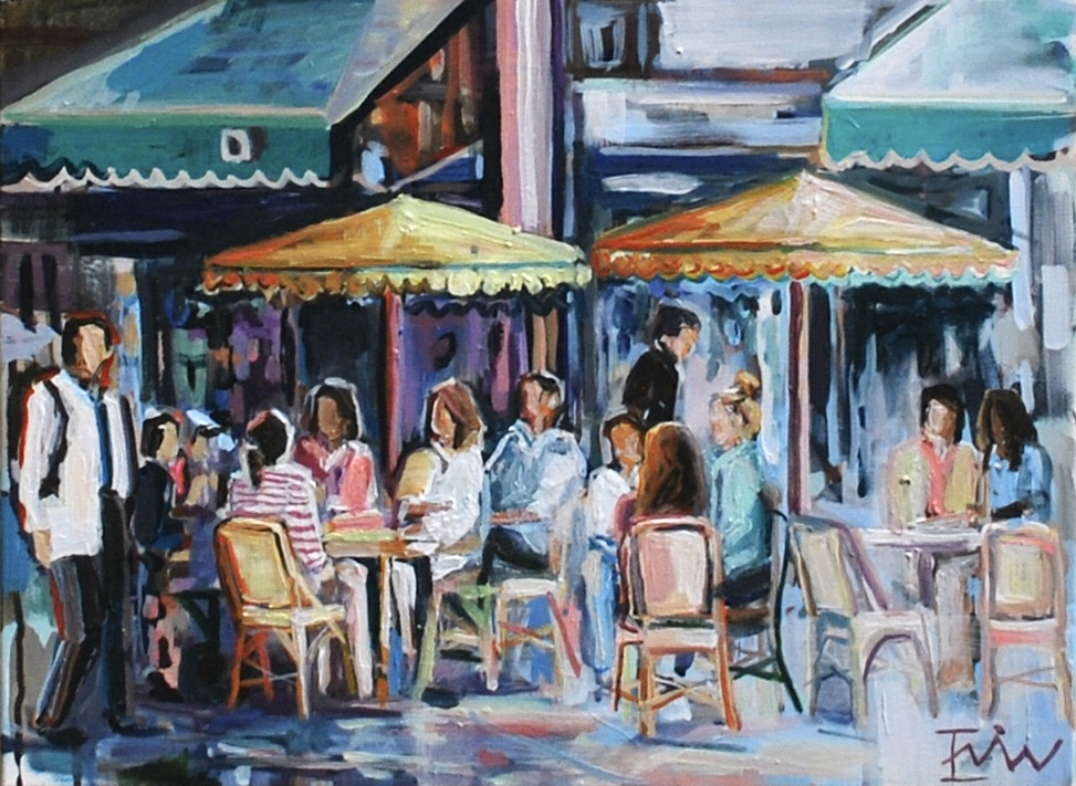 Cafe de Flore 18x24in. - $450, stretched canvas-.jpg