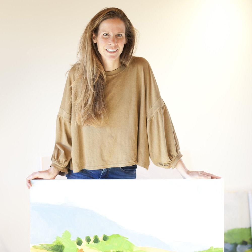 christen yates - Christen's paintings explore a relationship with the landscape as well as its flora and fauna. Focusing on the Blue Ridge Mountain area of central Virginia, she uses loose and suggestive strokes that imply an immediacy of experience within which she wants the viewer to linger. Painting is a process of paying attention, of looking at the layers of meaning as we ascribe to our placed-ness and hopefully evoking moments of re-humanizing connections.She lives and paints by the mountains just outside Charlottesville, Virginia with her husband, four kids and flock of hens.REQUEST CHRISTEN'S PORTFOLIO