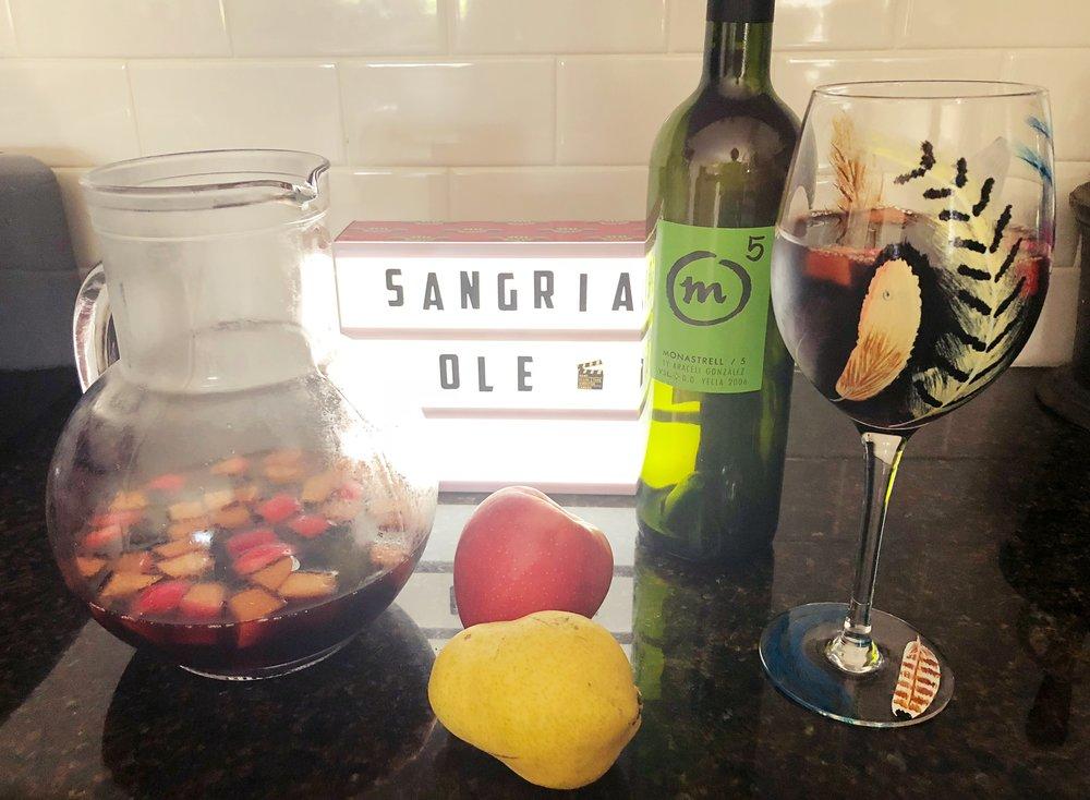 Heather's sangria