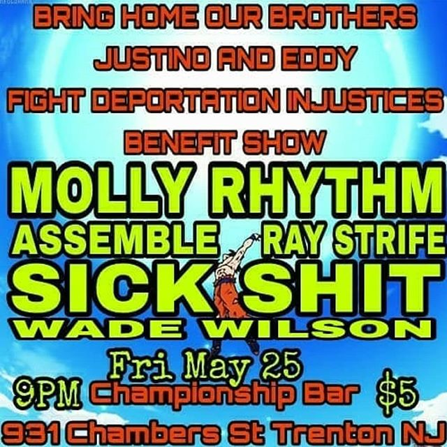 just hopped on a benefit show to help some homies kidnapped by the domestic terrorist organization known as #ICE.
