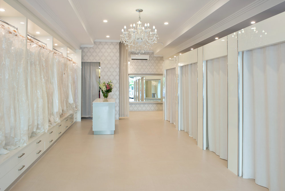 Our beloved studio which alters everything from gowns and suits to your favourite jeans.