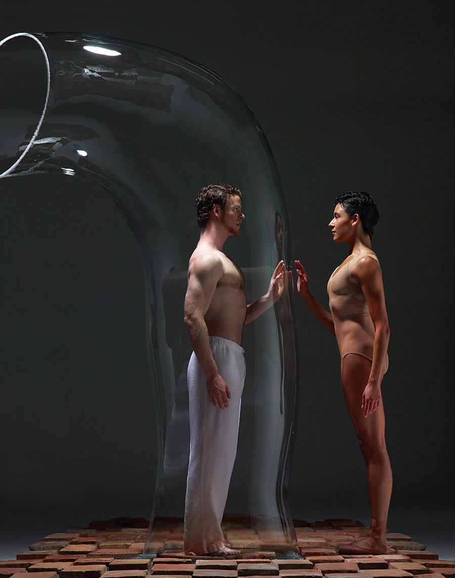 Dancers:  Sarah Griffin and Weston Krukow  | Photo  David DeSilva