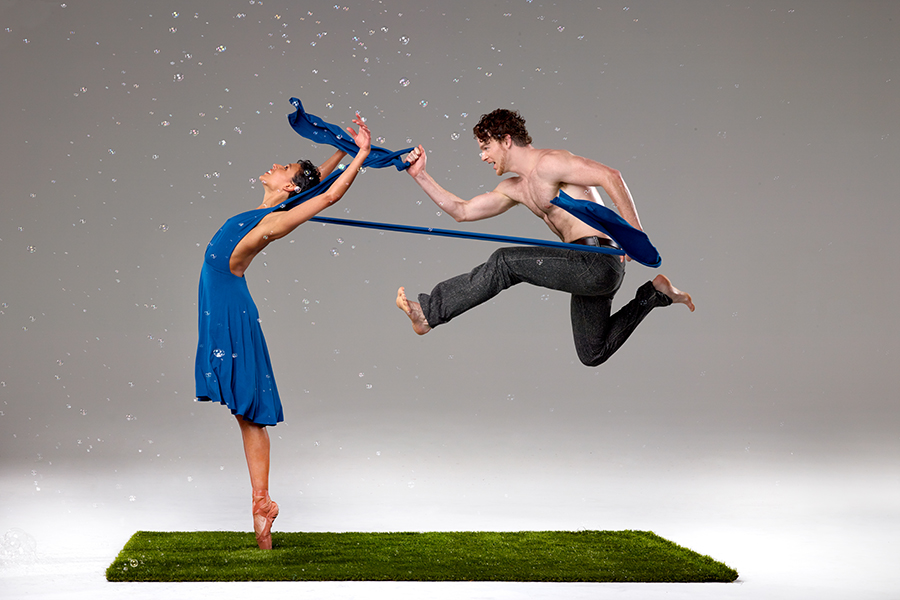 Dancers:  Sarah Griffin and Weston Krukow  |  Photo:   David DeSilva