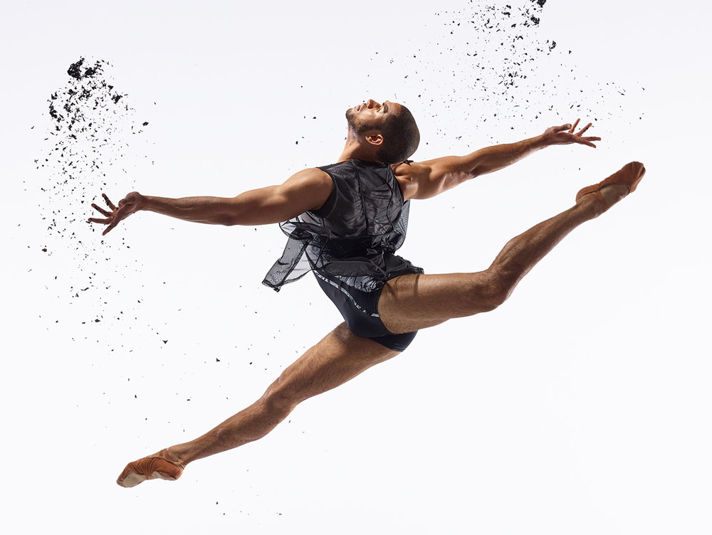 Dancer:   James Gilmer  | Photo:  David DeSilva