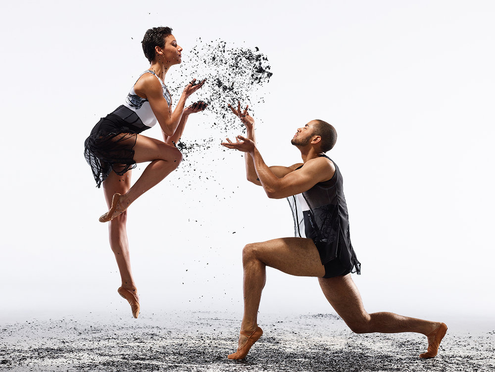 Dancers:  Sarah Griffin and James Gilmer  | Photo:  David DeSilva