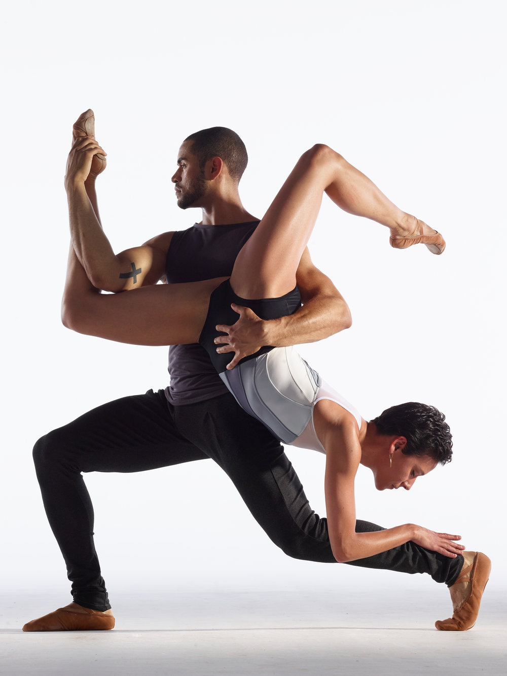 Dancers:    James Gilmer and Sarah Griffin  | Photo  David DeSilva