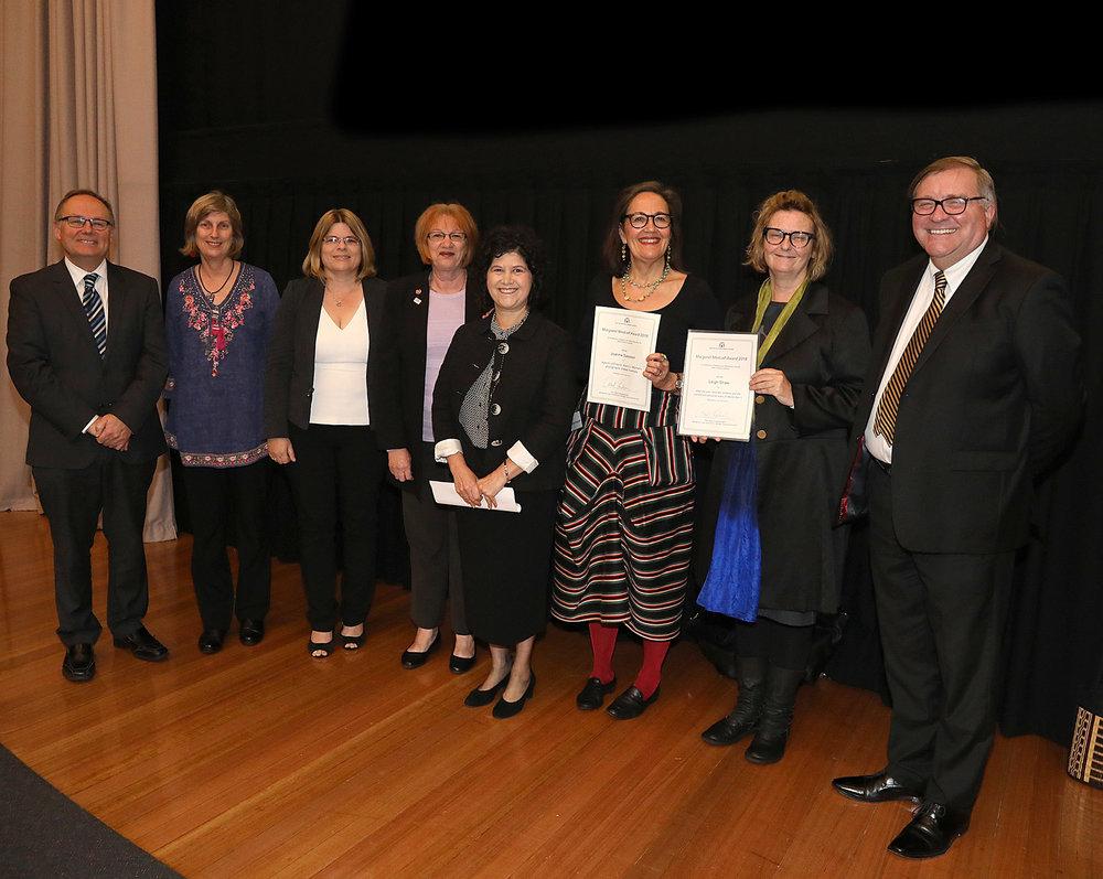2018 Margaret Medcalf Award Winners.