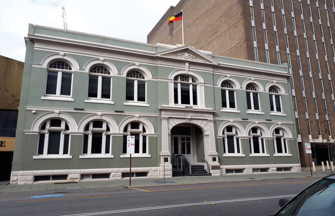 Perth Trades Hall building (now CFMEU Offices) 80 Beaufort Street, Perth, WA.