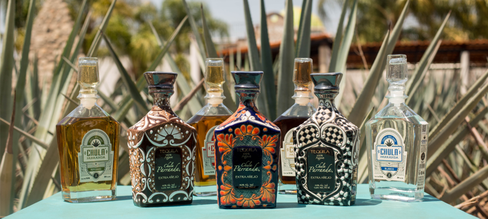 Chula Parrands Premium Sipping Tequila. An array of bottles available including special limited edition master pieces.