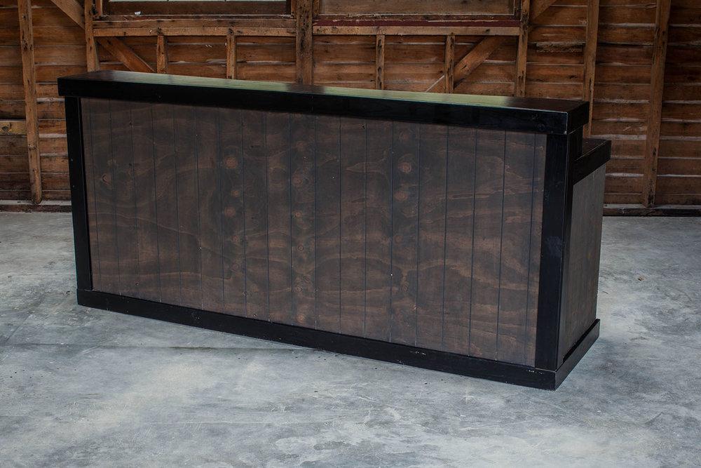 Wood Paneling Bar
