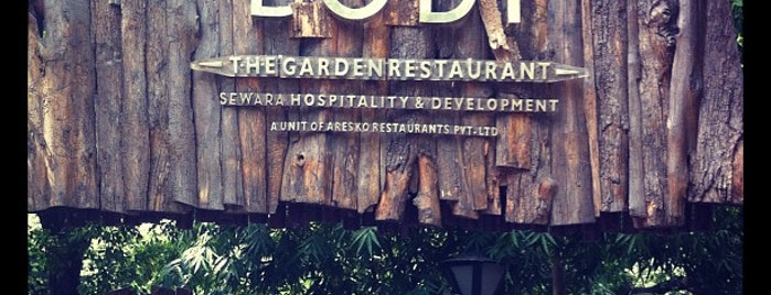 11. Lodi -The Garden Restaurant