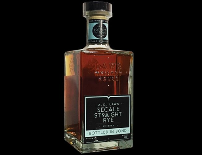 7. A.D. LAWS SECALE STRAIGHT RYE