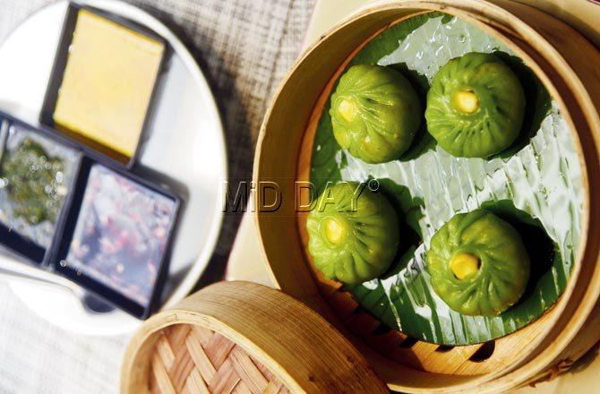 Water chestnut dumpling. Pic/Sameer Markande