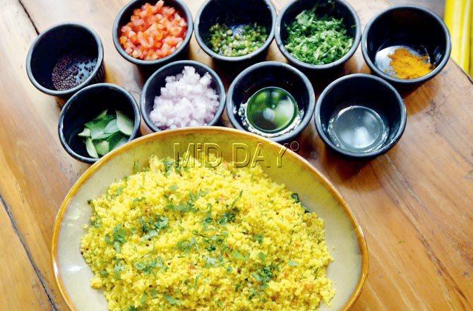 Cous cous upma. Pic/Datta Kumbhar