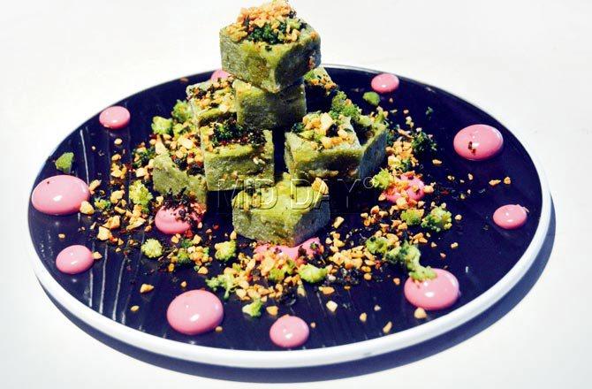 Broccoli cake. Pic/Sayyed Sameer Abedi