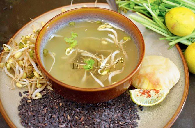 Kitchari soup. Pic/Ashish Raje