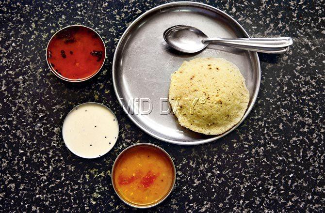 Pepper idli. Pic/Atul Kamble