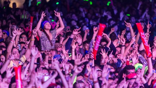 Qilai Shen | In Pictures Ltd. | Corbis News | Getty Images  Attendees at Storm Festival, an electronic dance music festival, in Shanghai, China.