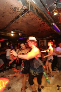 HUMP DAY, HOORAY: salsa is the name of the game at Club 97 in Lan Kwai Fong.