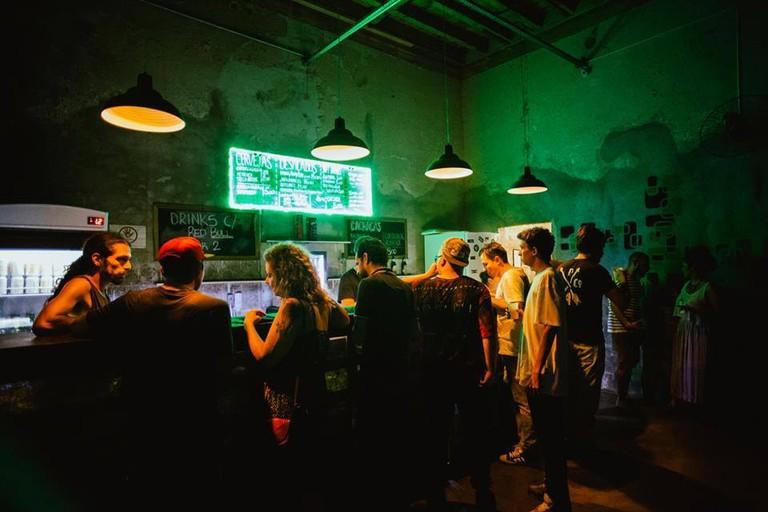Bar at Casa da Luz, São Paulo  © Casa da Luz