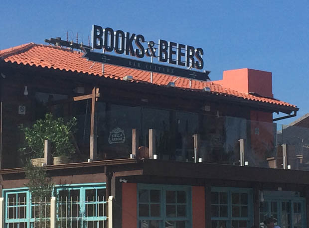 Books & Beers at Lagoa Da Conceicao [EB]