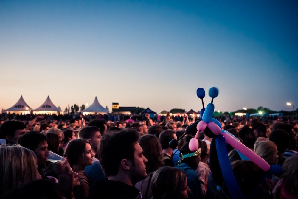 Crowd at the MS Dockville Festival | © daspunkt / Flickr