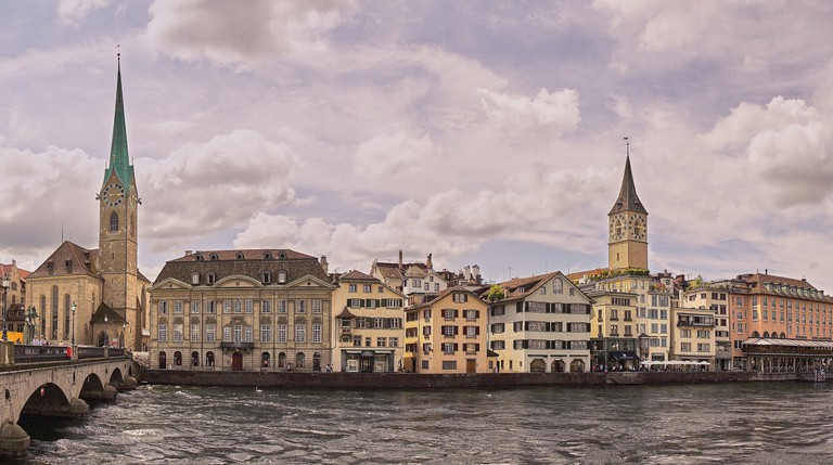 Painting of Zurich |  ©Pedro Szekely/Flickr