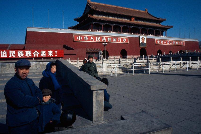Tiananmen Gate, Beijing    © JOHN BULMER/GETTY IMAGES