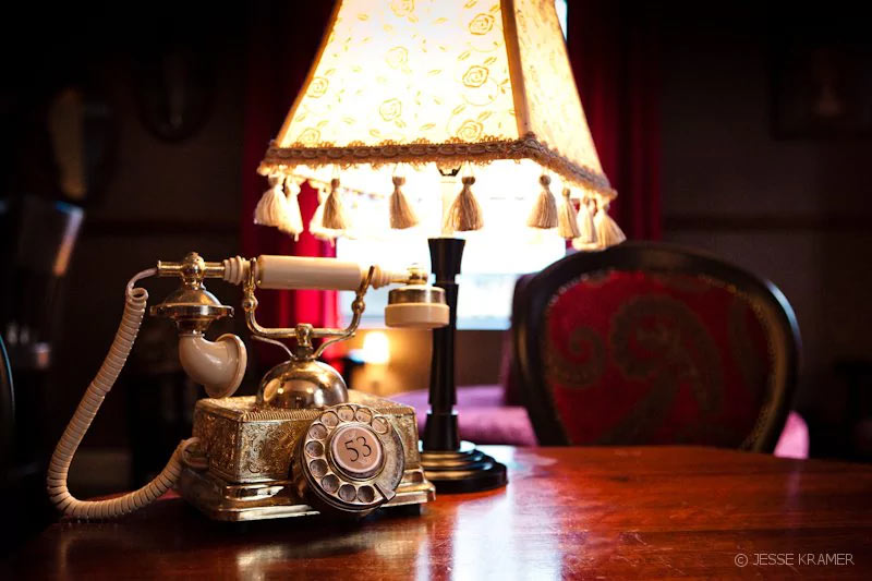 At Alexander bar, use the dial-up vintage telephone on every table to place your drinks order; then flirt with another table