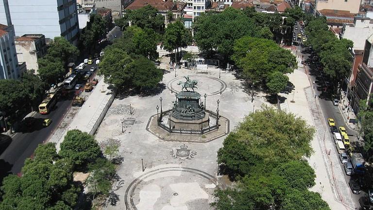The Instituto Cultural Ruinas is located in Praça Tiradentes in Centro, Rio de Janeiro| © Gaban / WikiCommons