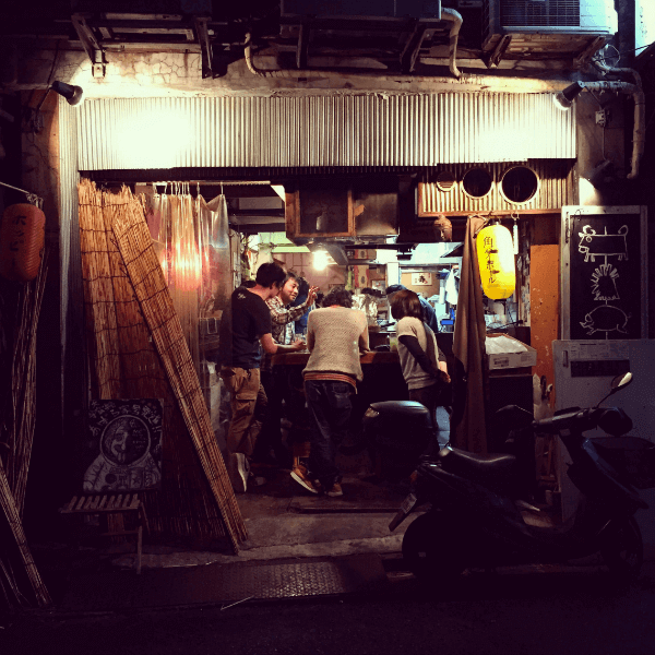 A hole-in-the-wall in Shibuya's backstreets