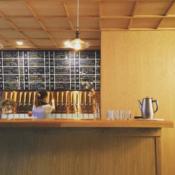 A stylish craft beer bar