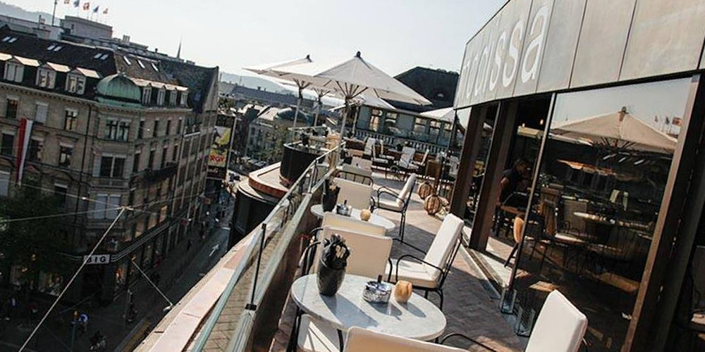 Best Bars Zurich ~ ooo Rooftop / Photo: Facebook ooo.zh