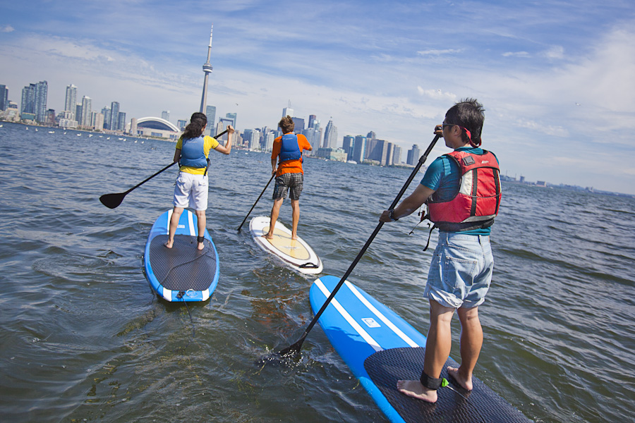 Photo:  Harbourfront Canoe & Kayak Centre