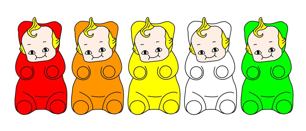 gummi baobao bears