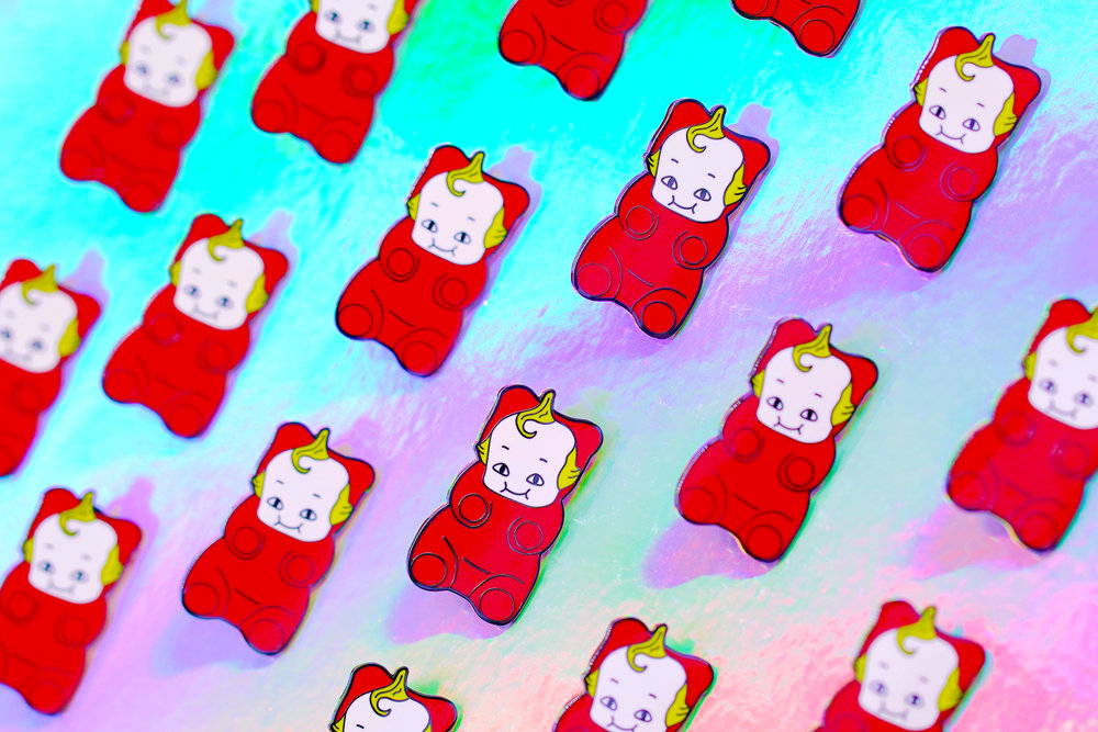 GUMMI BEAR BAOBAO rectangle cover