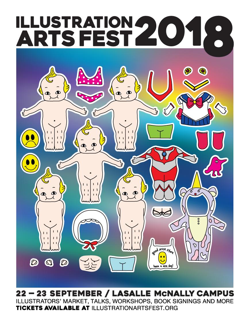 DRESS A BAOBAO Sticker Sheet