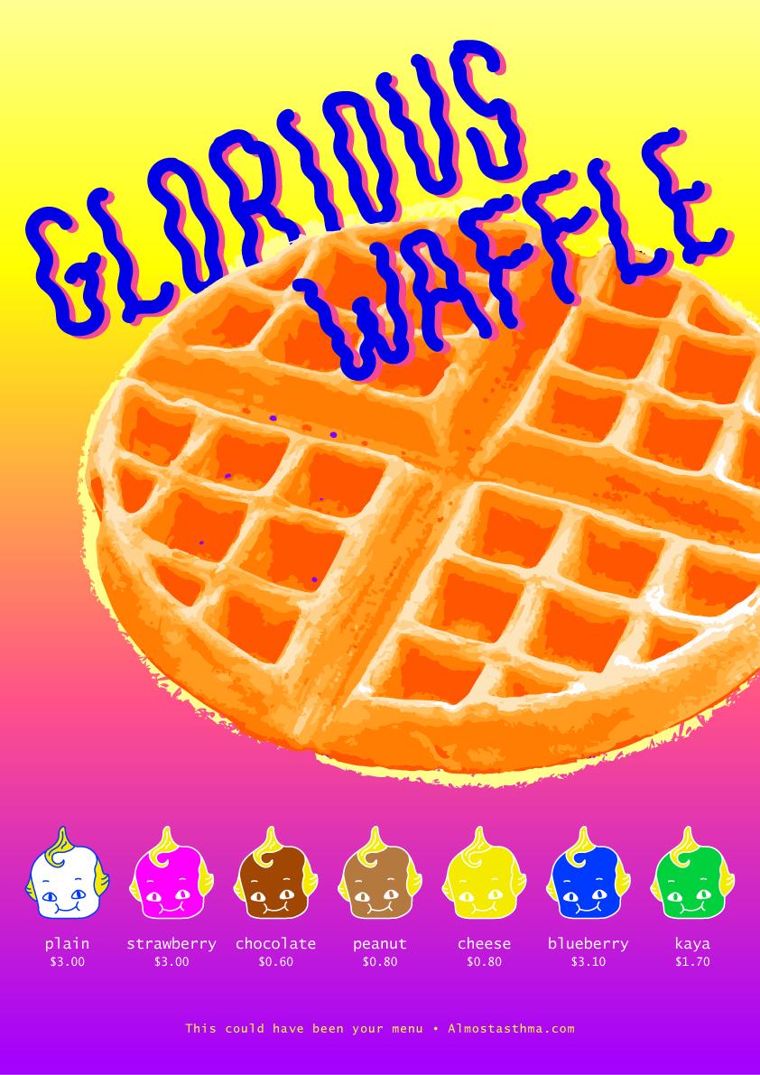 glorious waffle