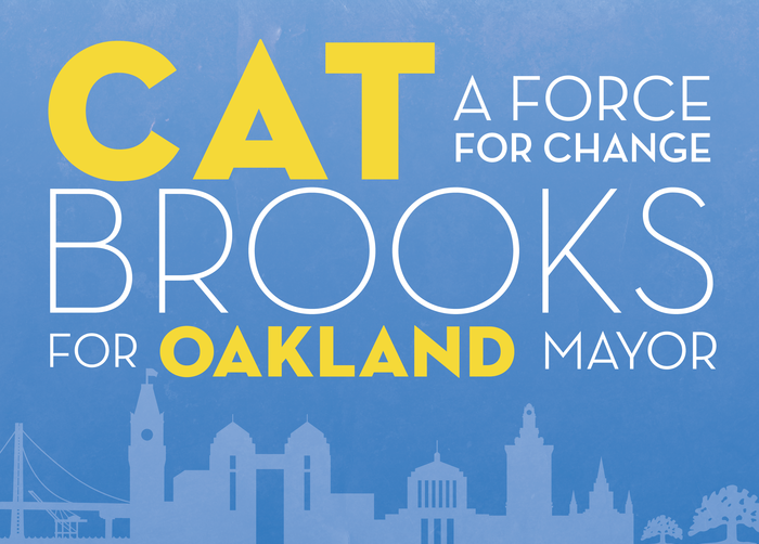 Cat Brooks for Oakland