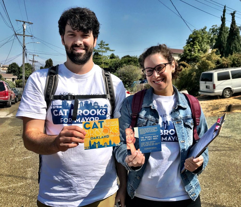 Sign Up to Walk and Call - Help Cat bring the victory home!