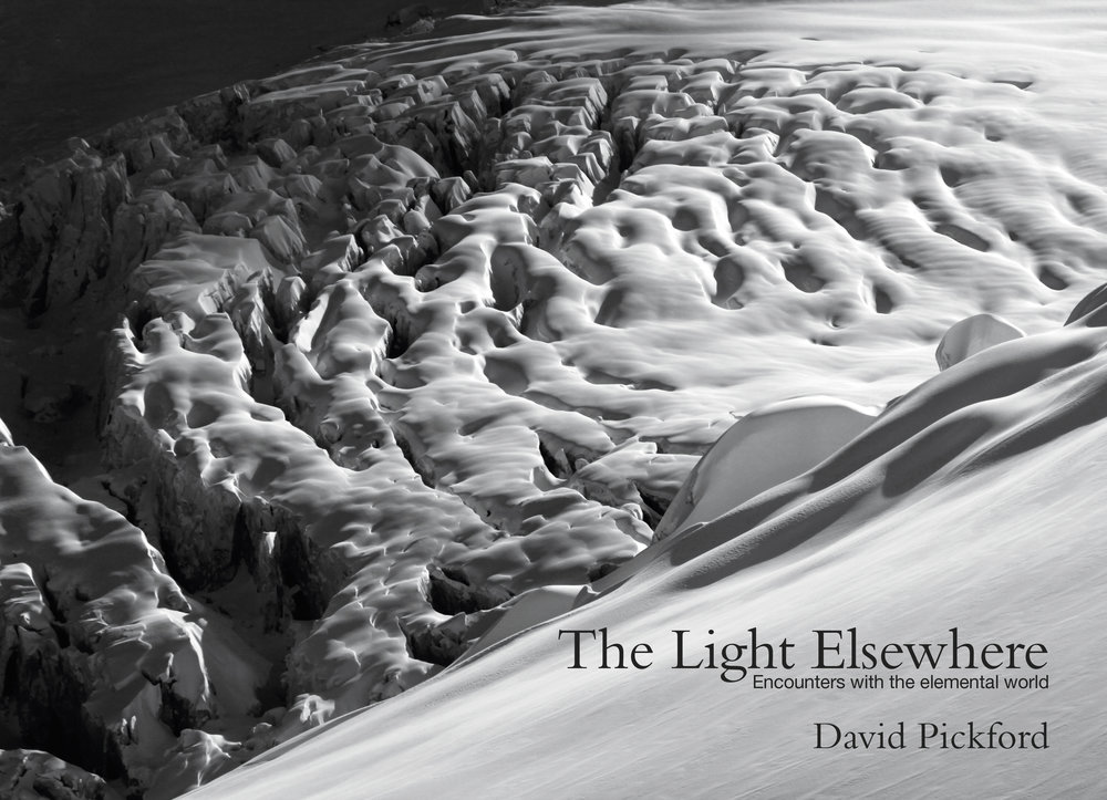 """Aside from being beautiful, it is also thought-provoking, highly intelligent, and immensely cultured in ways we might not expect from a book dealing for the most part with the nomadic, physical culture of international rock climbing.""   - Award-winning writer Jim Perrin reviewing  The Light Elsewhere: Encounters with the Elemental World"
