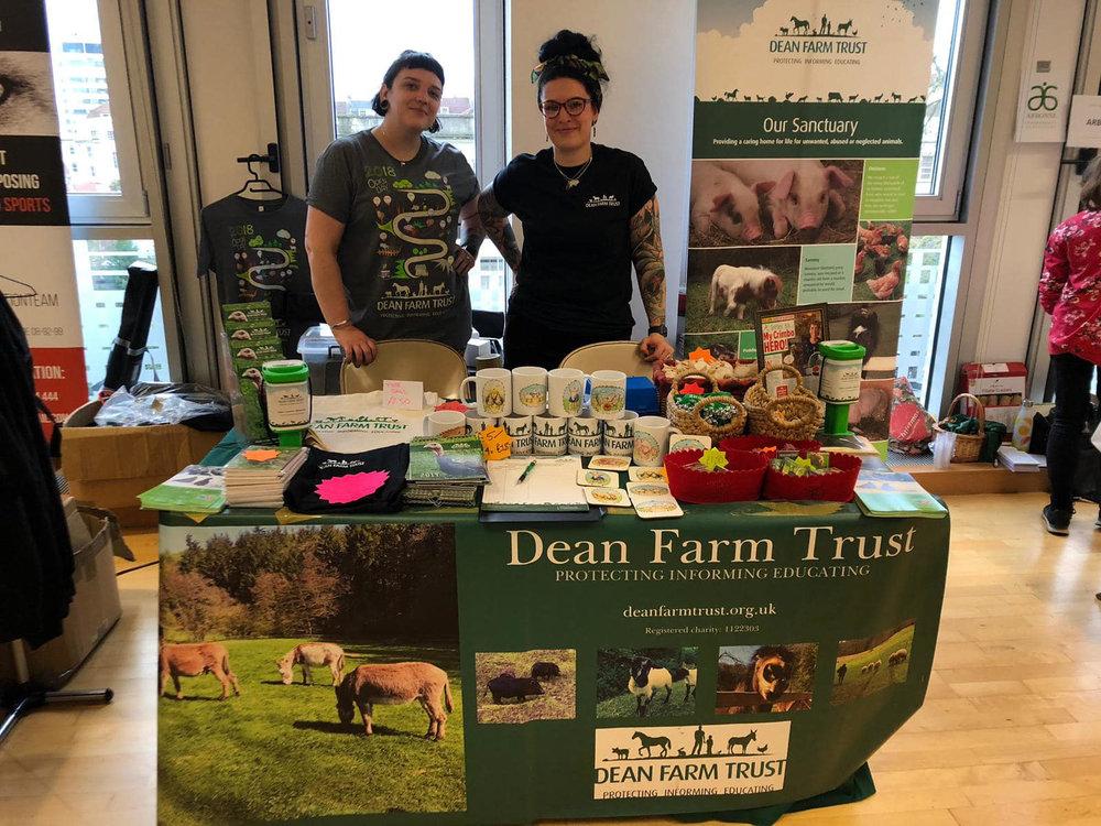Dean Farm Trust stall.jpg