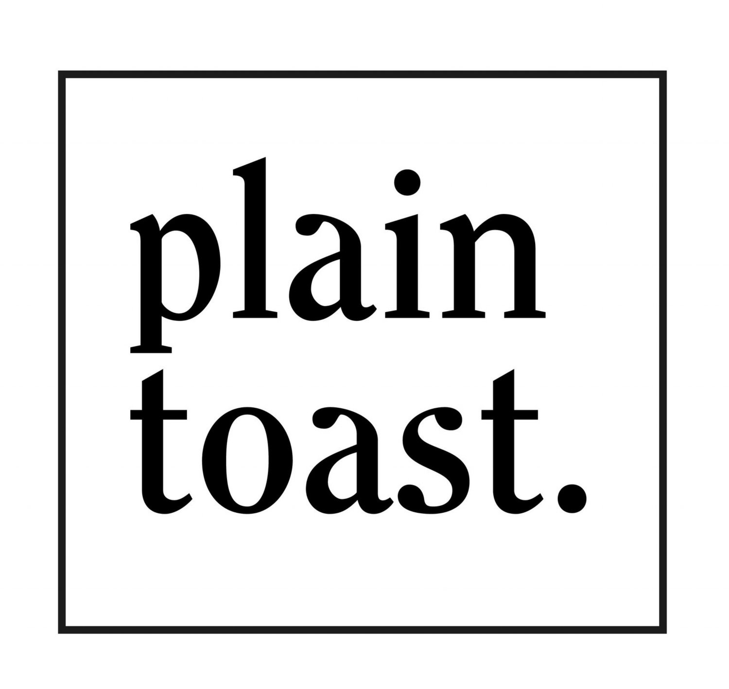 Plain Toast - intention jewellery to soothe the soul