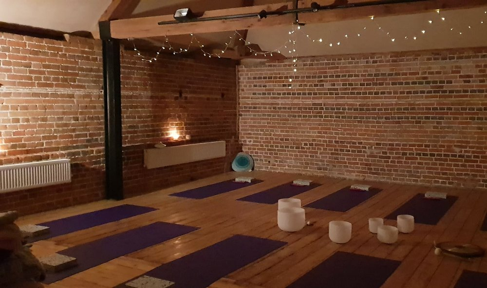 Group classes are held at The Wellness Barn, a beautiful space in the Essex countryside.