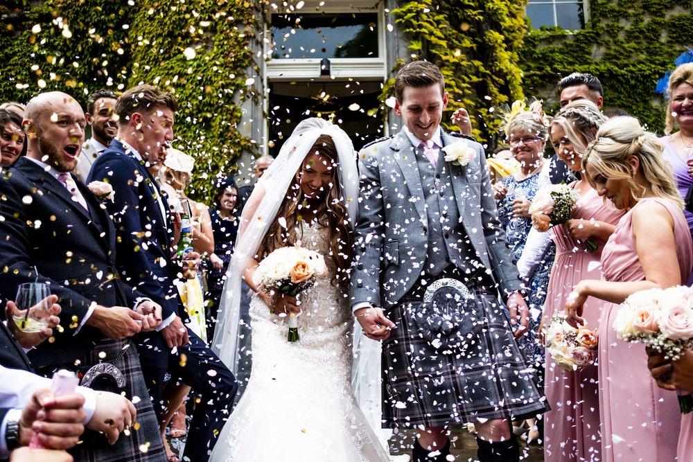 Wedding photography carlowie castle