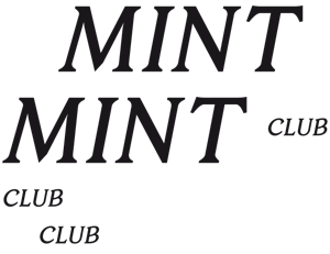 MINT CLUB · Tattoo & Design Atelier · Online Shop