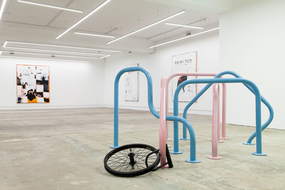 Mums Atkins diet plan. Bike stands. Stolen bikes. Gallery. Humber Street. Abstract.