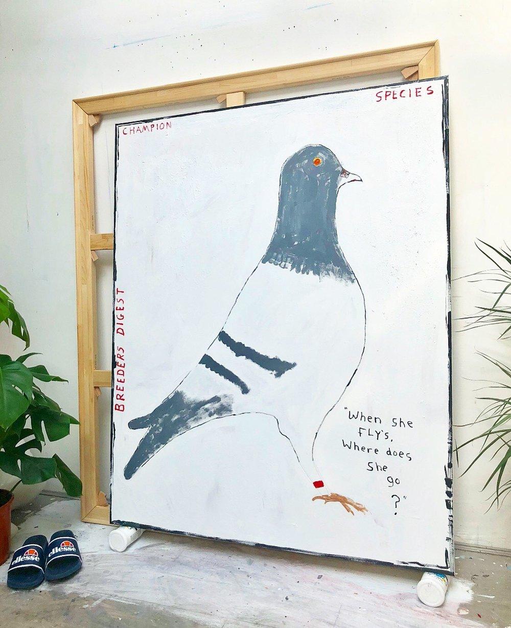 Richie Culver. Artist. Canvas. Acrylic. Minimal. Painting. Paint. 2019. .jpg