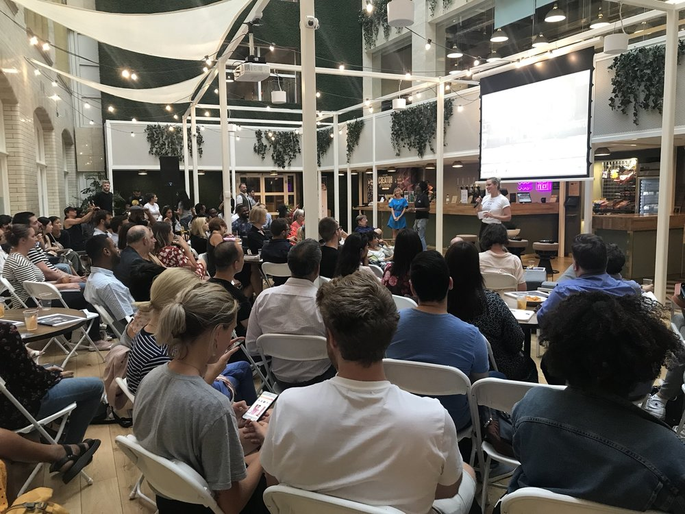 - ALHAUS travelled to London this month as media partner of a We, the Creators panel event at WeWork Waterhouse Square, featuring experts from the world of art and design.