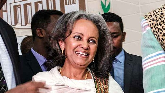 Sahel-Work Zewde, President of Ethiopia